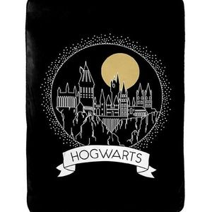 Harry Potter Hogwarts Moonrise Plush Soft Blanket